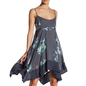 Free People Floral Print Dress L